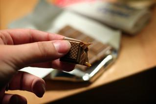 caramel chocolate bar | by ginnerobot