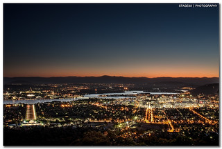 Canberra From Top Of Mount Ainslie | by Sam Ilić