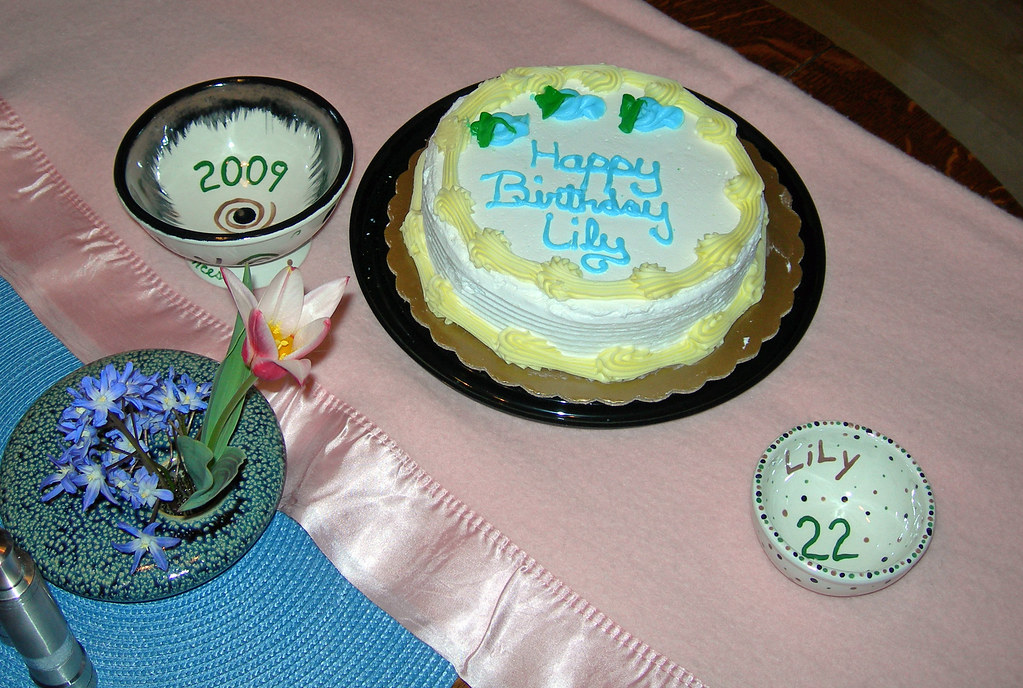 Astounding Lilys 22Nd Birthday Cake Alan Prather Flickr Birthday Cards Printable Trancafe Filternl
