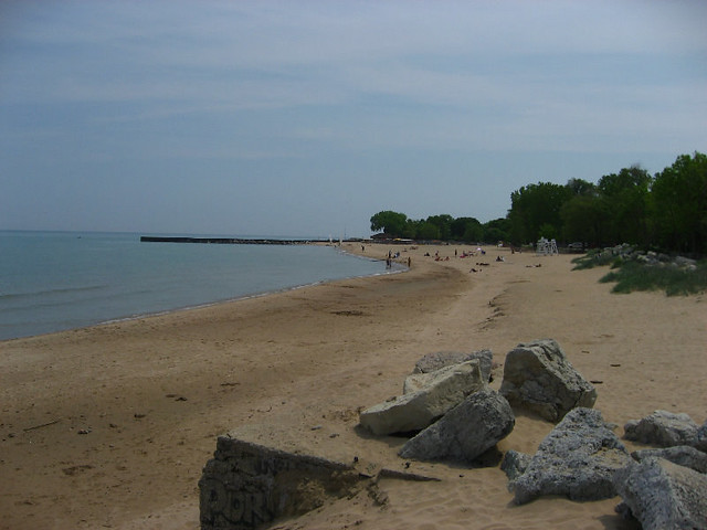 Dawes Lakefront Beach Park - Evanston, IL | After taking a t
