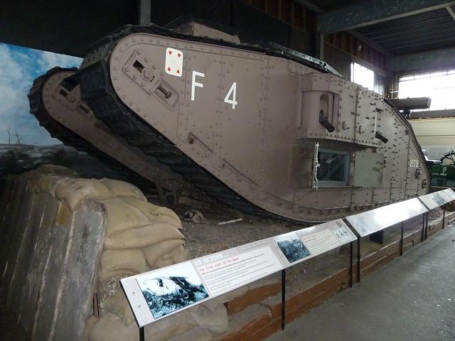 Flirt II Mark IV Female Tank Museum of Lincolnshire  Life Lincoln
