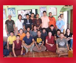 Institute of Tibetan Thangka Art Students | by heidiminx1