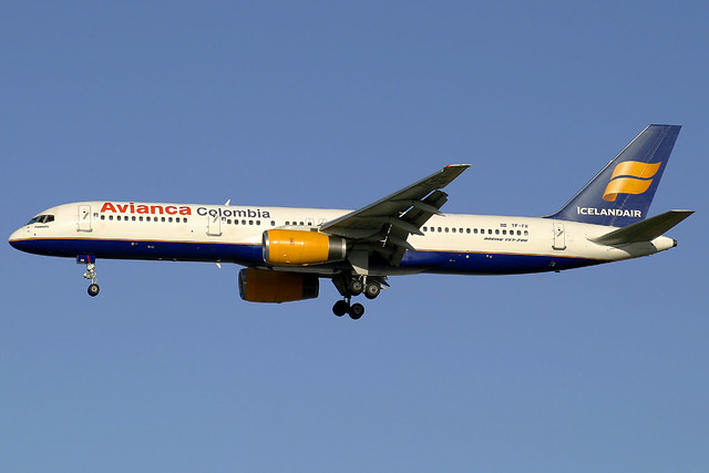 Avianca (Icelandair) Boeing 757-208(ET) TF-FII
