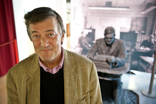 Stephen Fry at Bletchley Park   by Documentally