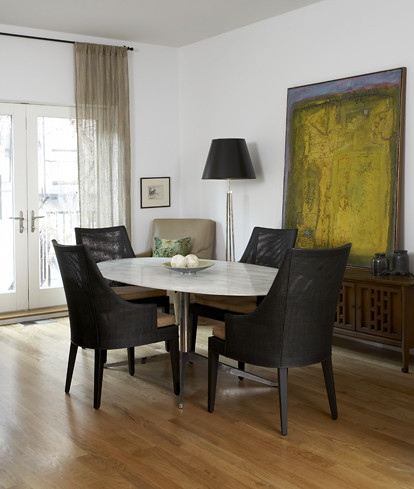 Mid Century Modern Mix Dining Room Knoll Table Abstra Flickr,What Is The Best Color For A Metal Roof