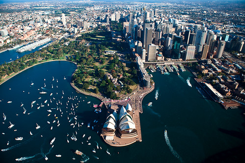 Sydney Opera house celebrating Jessica Watson | by Pavel Sigarteu