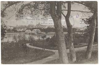 Östersund från Frösön (ca. 1919)