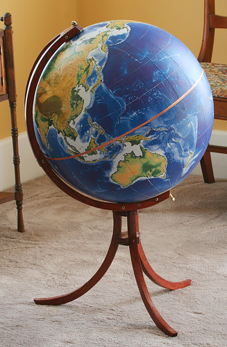 globe with stand | by davesbit