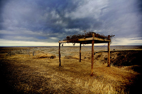 Plains Indian Burial Platform | by road triper