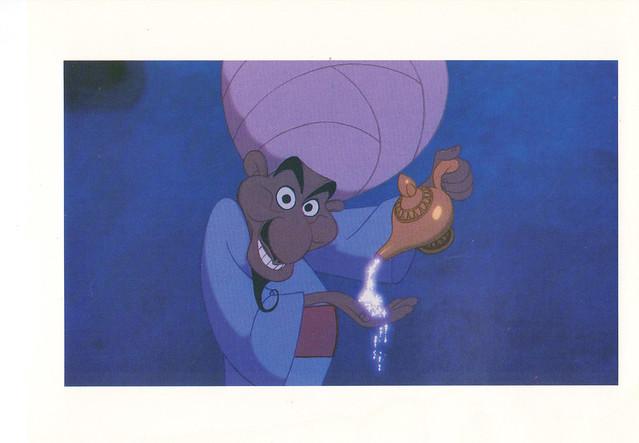 Disney Aladdin Postcard