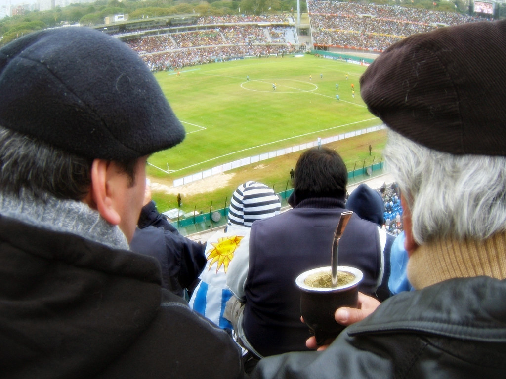 Soccer and maté (Fútbol y mate)