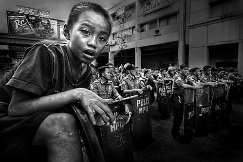 Manila, Philippines - Child in Conflict