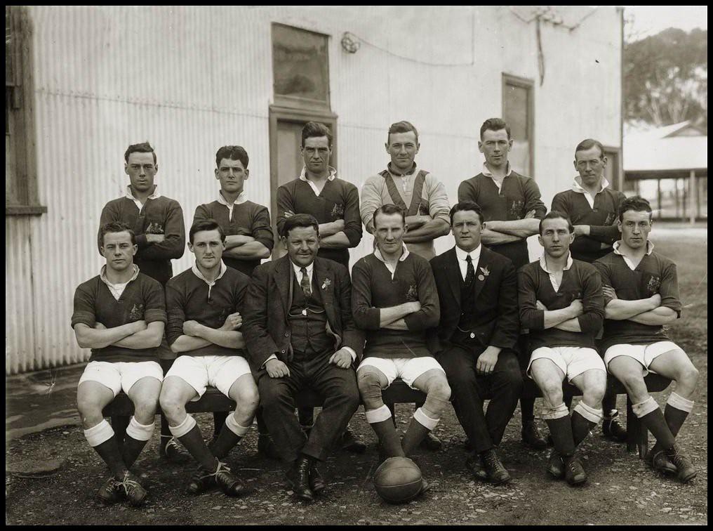 Australian Soccer Team 1924