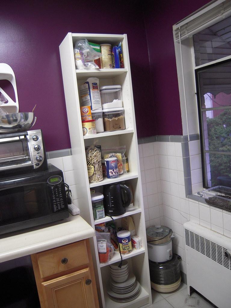 Ikea Billy Bookshelf Food Pantry Pre Pantry Door