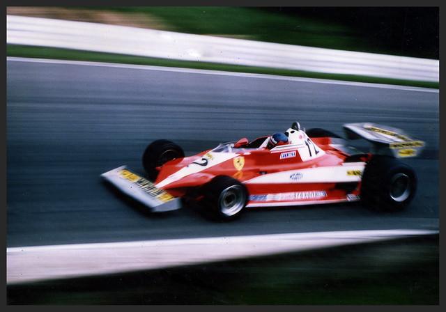Ferrari  - Brands Hatch 1978 Gilles Villeneuve