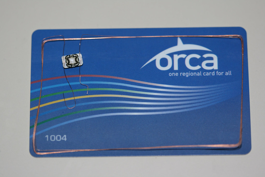 Anatomy of an ORCA Card | I dissolved one of my extra ORCA c… | Flickr