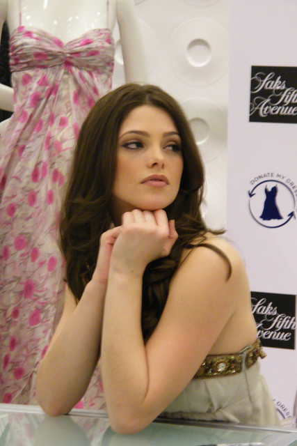 ashley greene at saks event