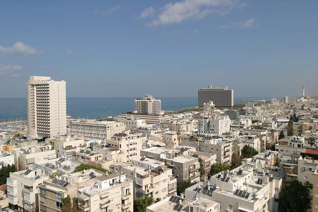 Tel Aviv Übersicht von oben