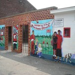 Cottingham Stadium Mural