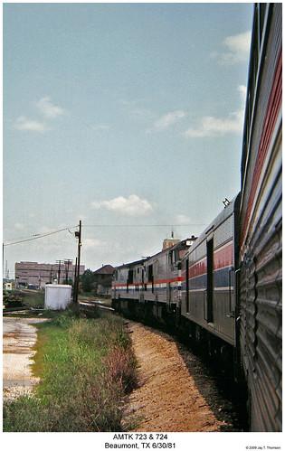 railroad train texas diesel railway trains amtrak locomotive trainengine pooch ge beaumont cowled passengertrain cowl p30 amtk sunsetlimited sixaxle fullcowl cowlunit p30ch
