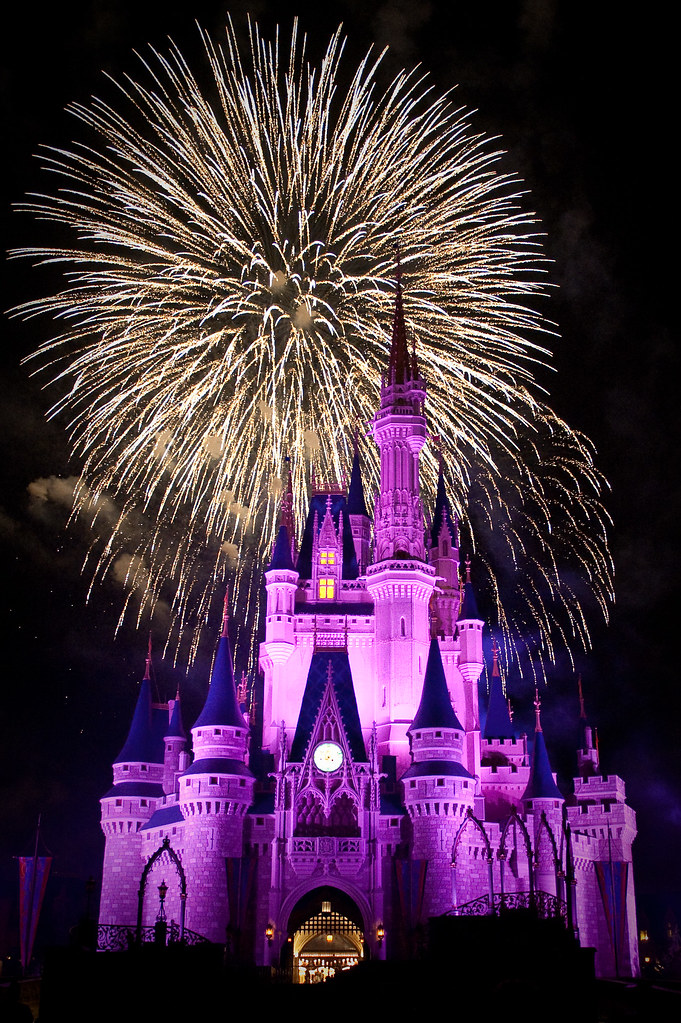 The 'Big Bang' at Wishes - Magic Kingdom - Walt Disney Wor