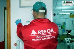 COLABORACIÓN DE REGENERACIO FORESTAL S.L. EN LA DESINSECTACIÓN, DESINFECCIÓN Y DESRATIZACION DE LA ASAMBLEA DE CRUZ ROJA ESPAÑOLA EN L'ALCUDIA - SEÑALIZACIÓN DE TRATAMIENTOS - RESPONSABILIDAD SOCIAL CORPORATIVA DE REFOR S.L. F24