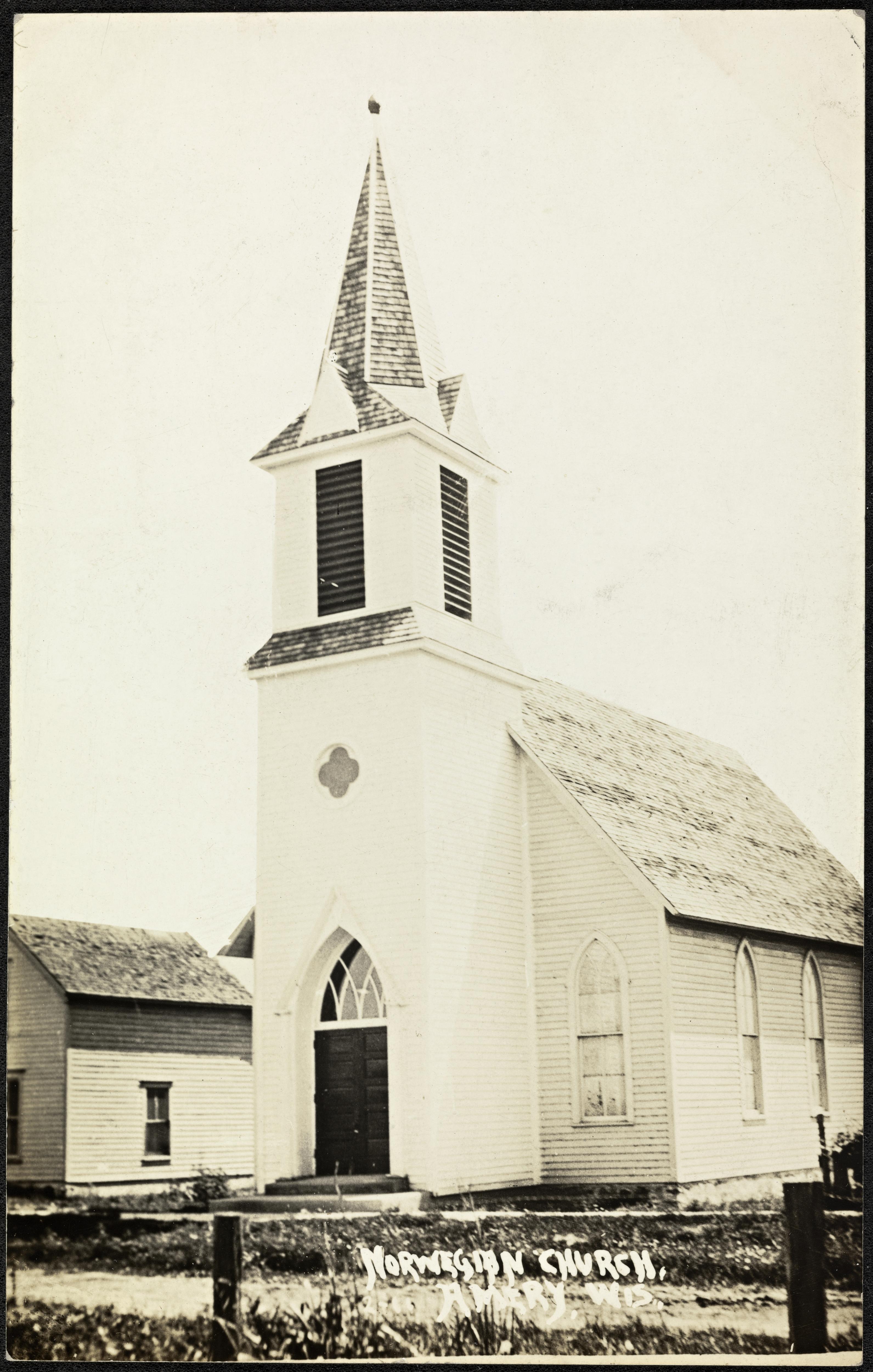 Norwegian Church, Amery, Wis.