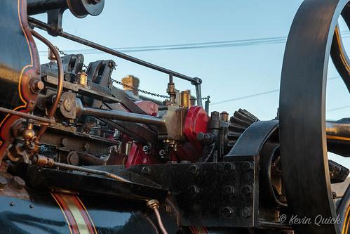 bedfordshire beds stotfold uk miniaturesteam roadrun roller showmansengine steam steamroller tractionengine