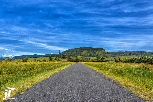 mountain road clouds trees outdoors nikond750 queensland