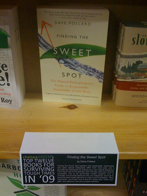 Finding the Sweet Spot by Dave Pollard Featured at Powell's Books in Portland, Oregon