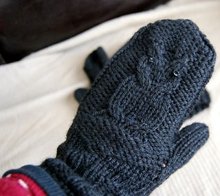 owl mitts :: from vonnie to me