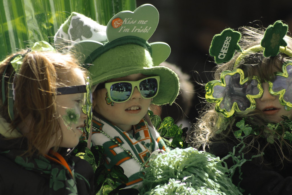 Image result for kids st patrick's day
