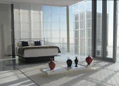Miniarcs: Morning Sunrise Penthouse - miniature stage set   by Miniarcs