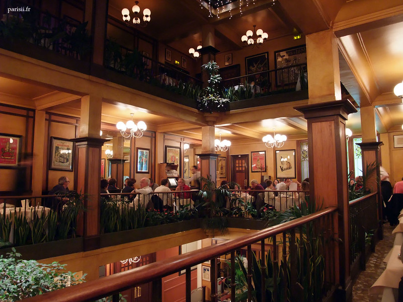 Café du commerce, Paris