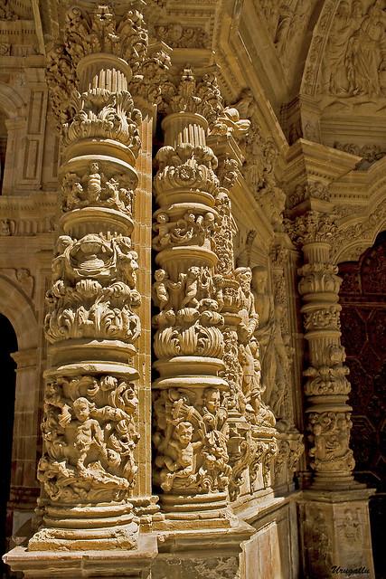 Detalles de la catedral de Astorga