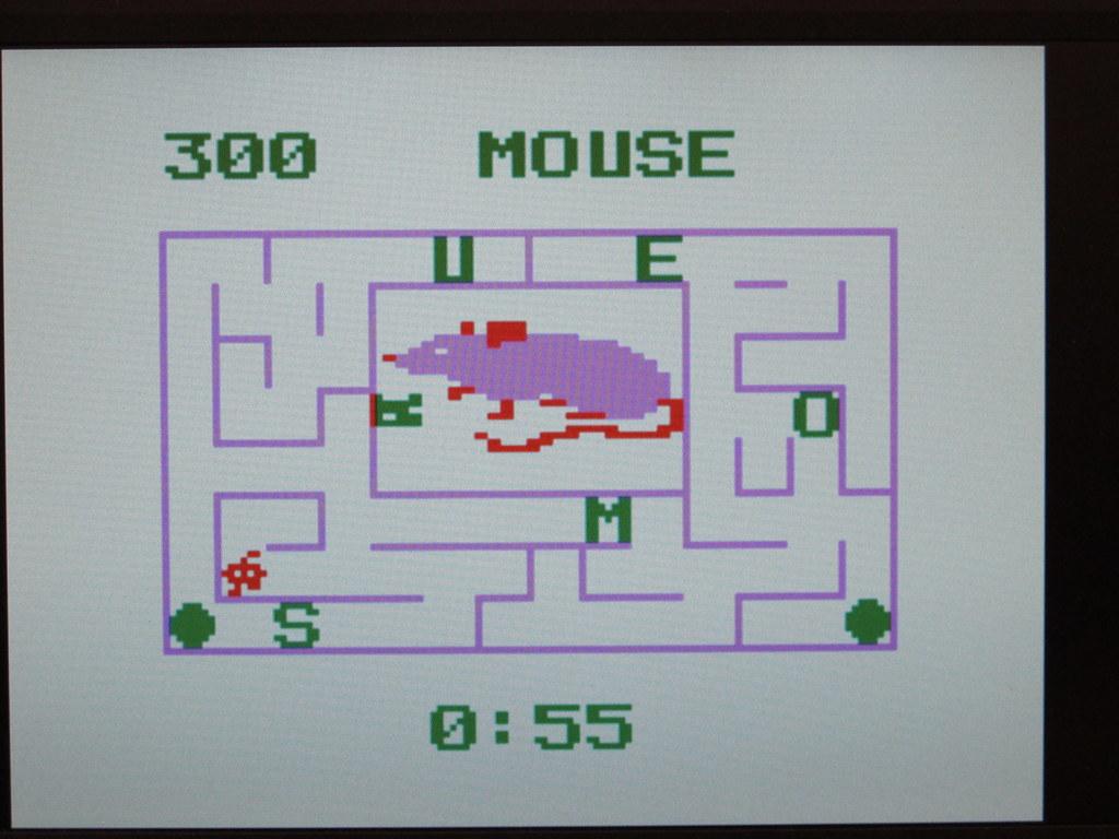 Word maze game