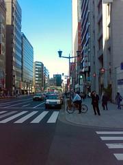 At Nihonbashi