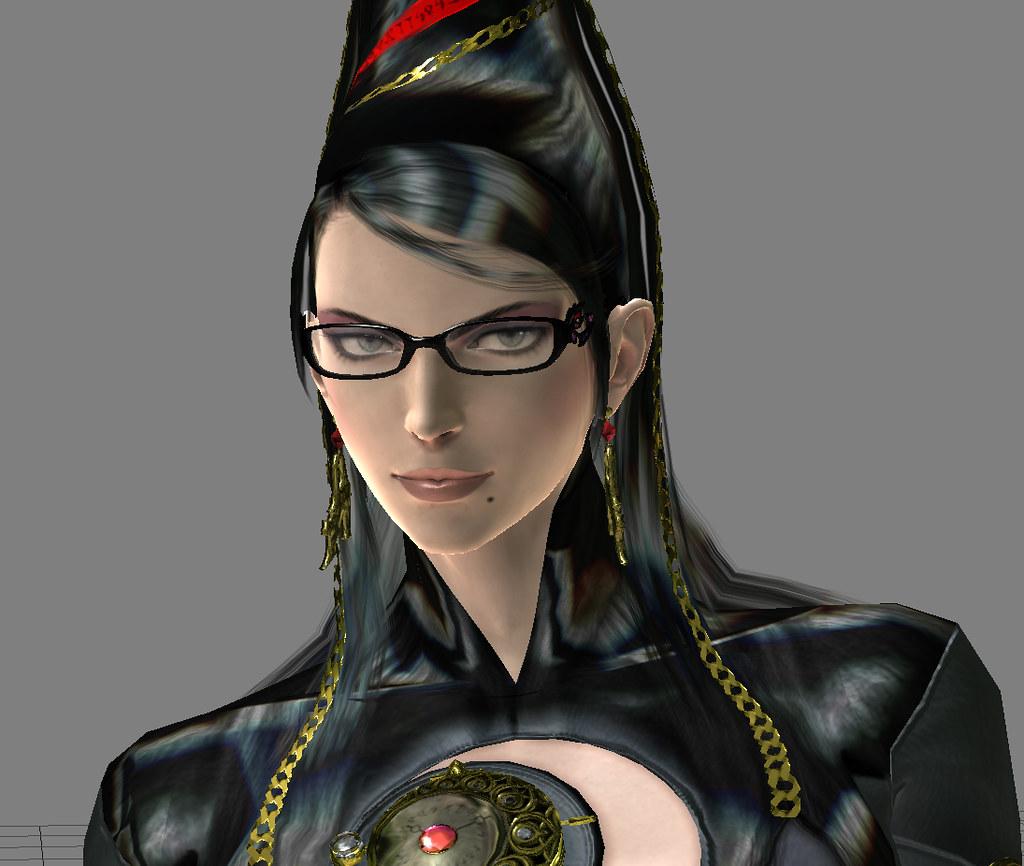 Bayonetta Final Face Final Character Model For Bayonetta