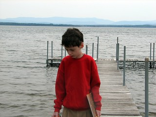 Peter on the dock | by Kathryn Cramer