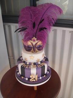 Brilliant Mossys Masterpiece Mel Ash 21St Birthday Masquerade C Flickr Funny Birthday Cards Online Alyptdamsfinfo