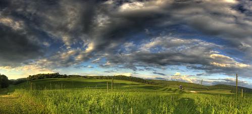 county new york blue cambridge light sunset storm color green field clouds last canon landscape foot eos washington farm hills depth tone hdr panarama stiched lseries 1635mm efex 40d