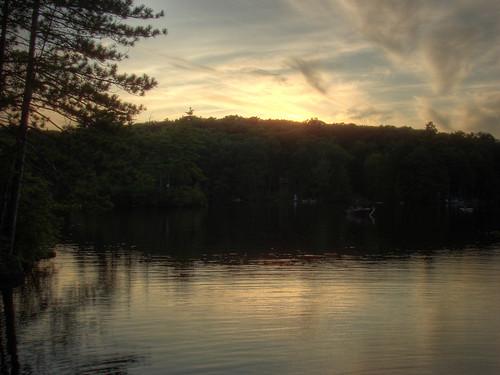 statepark sunset lake newhampshire pawtuckaway pawtuckawaystatepark codycarlson codymcarlson nealscove