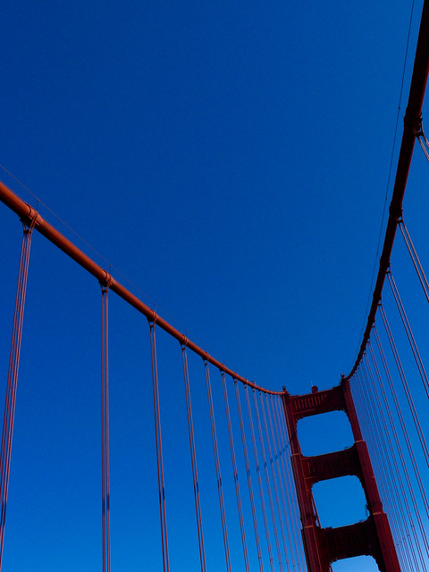 Summer skies and the GGB