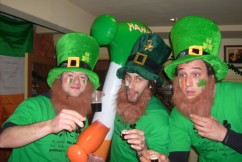 St Patrick's Day 09 / Barnacles Quay Street House / Galway Hostel | by Barnacles Hostels