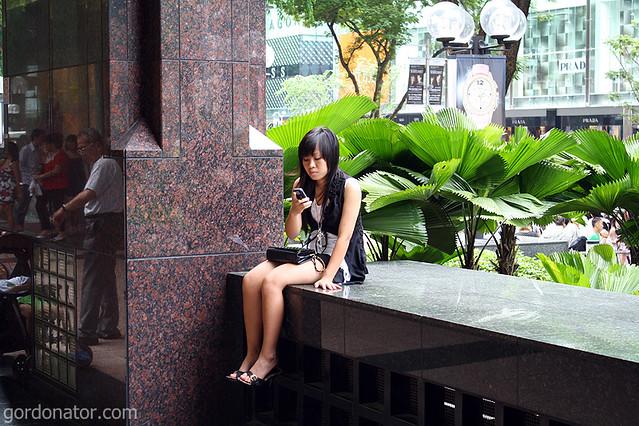 Mobile Phone Girl