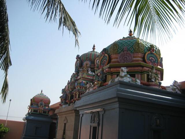 Vimanams of Murugar, Sundareswarar and Meenakshi shrines