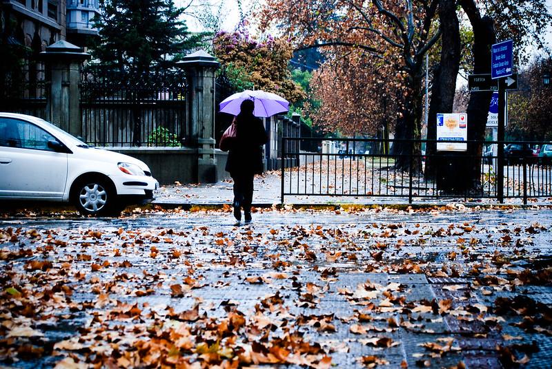 llueve sobre santiago