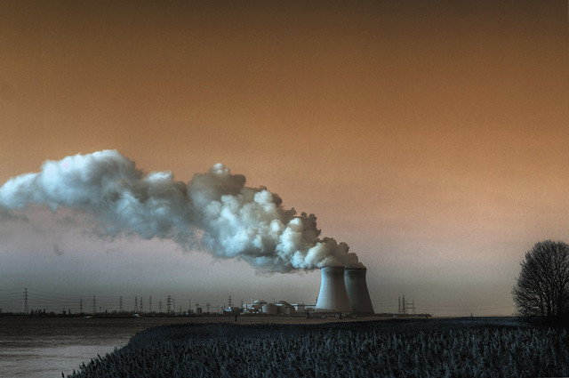 Nuclear Power Station (Doel Belgium)