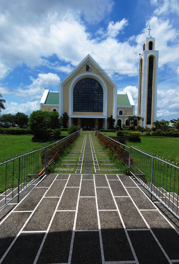 Our Lady of Peñafrancia Basilica | A vertical panoramic view… | Flickr