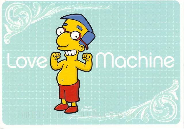 Simpson's Matt Groening Postcard